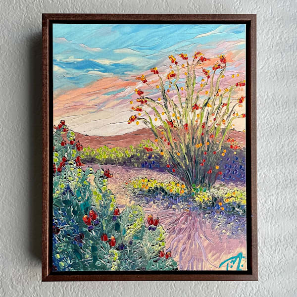 There's A Glow About Her   Oil Embellished Giclée #4 Art   Tessa Nicole Art