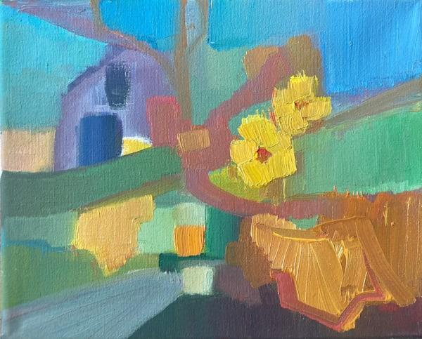 Autumn Garden Abstract Art | Peg Connery-Boyd Artwork