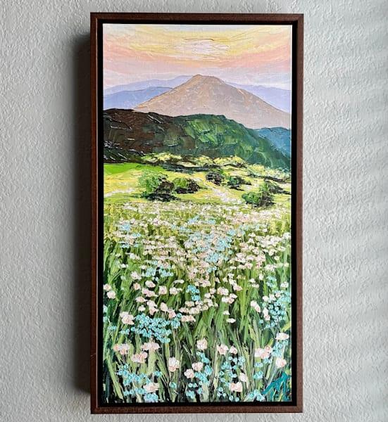 Field Of Lace   Oil Embellished Giclée #2 Art   Tessa Nicole Art