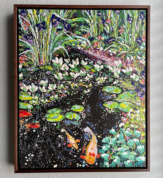 Pure Bliss   Oil Embellished Giclée #3 Art   Tessa Nicole Art