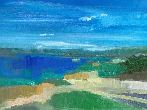 Trail Around The Lake Art | Peg Connery-Boyd Artwork