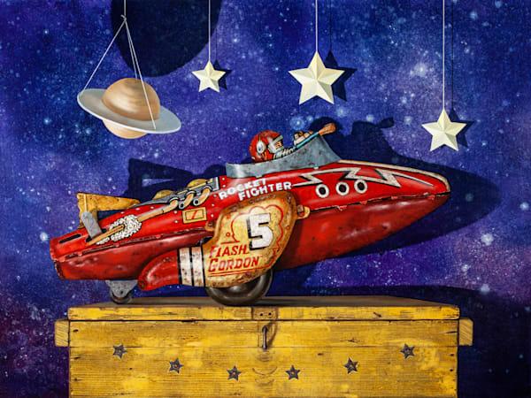 Rocket Fighter Art | Richard Hall Fine Art
