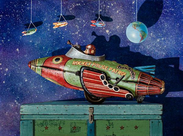 Rocket Patrol Art | Richard Hall Fine Art