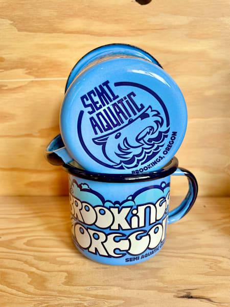 12 oz. Enamel Mug by Spencer Reynolds