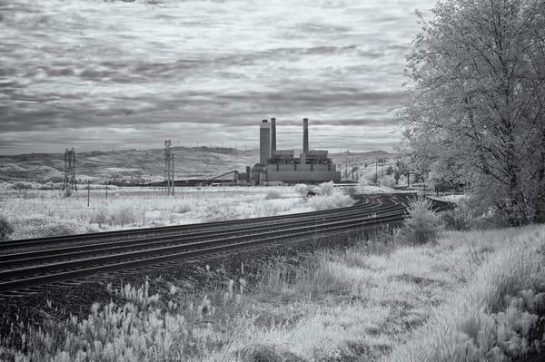 Centralia Steam Plant Deep BW.