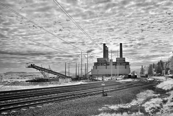 Centralia Steam Plant IR Nr2 BW