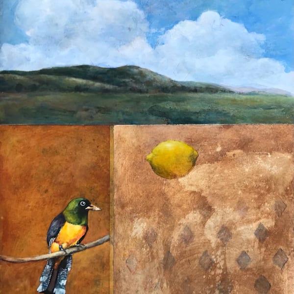 Bird With Lemon Art   michaelwilson