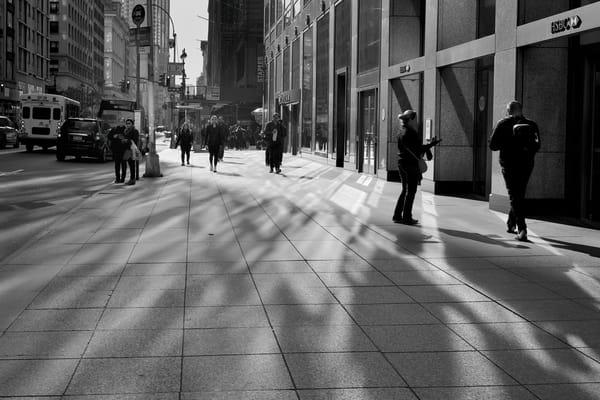 NYC Sidewalk Shadows