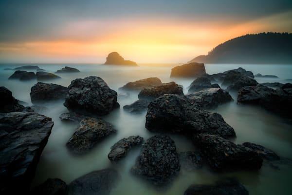 Misty Sunset on Indian Beach | Shop Photography by Rick Berk