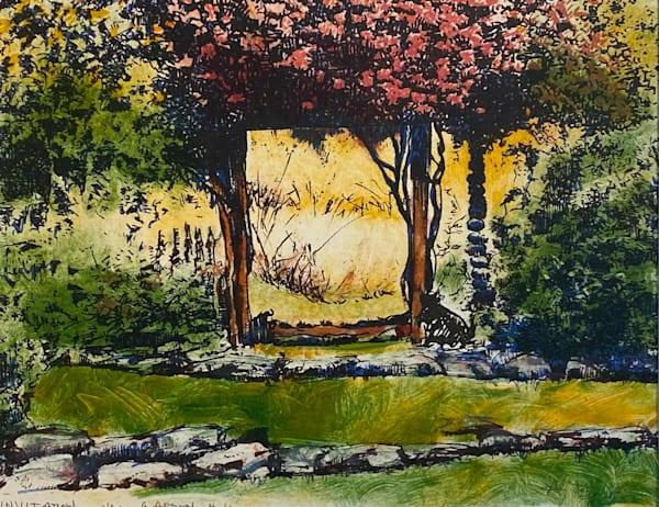 Invitation To The Garden (Unframed) Art | Fountainhead Gallery