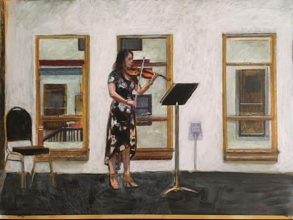 Violin In Tfa Gallery Art | New Orleans Art Center
