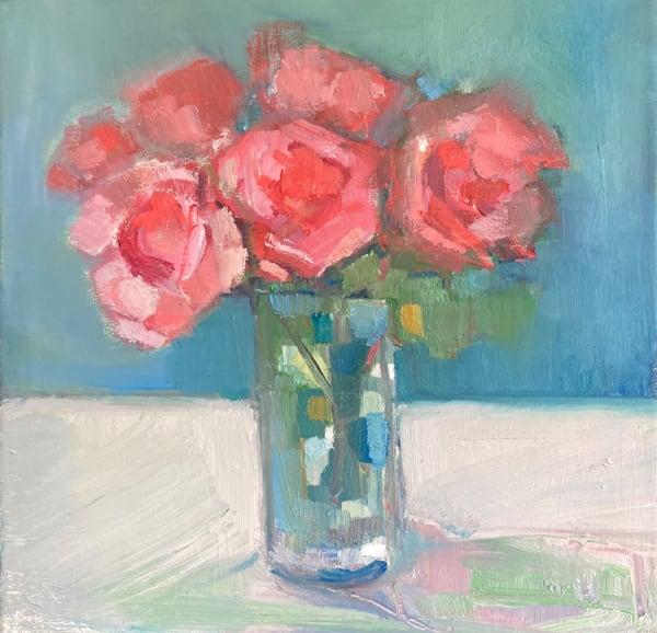 Rosy glow,