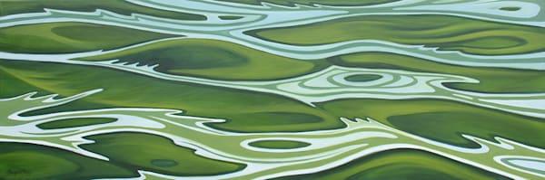 """""""Aqua Verde"""" Oil On Canvas Art   Margaret Biggs Fine Art"""