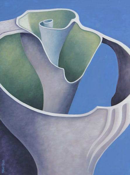"""""""Against The Sky"""" Oil On Canvas Art   Margaret Biggs Fine Art"""