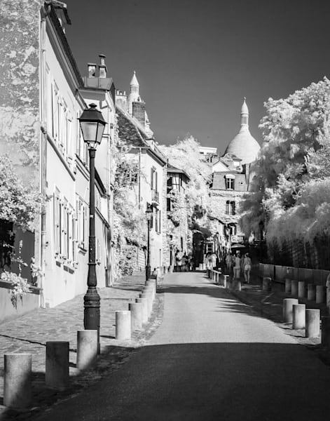 Afternoon In Paris Photography Art | The World in Black and White