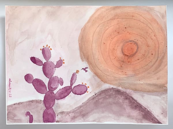 Tlatocnochtli Art | Alma Ruiz Velasco