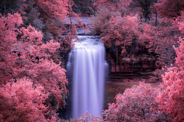 Minnehaha Dreams - Waterfall Prints | William Drew Photography