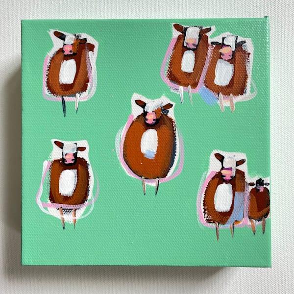 Mini Cows Meadow | Lesli DeVito