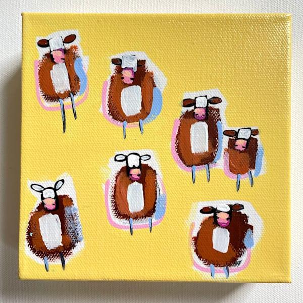 Mini Cows Sunshine | Lesli DeVito