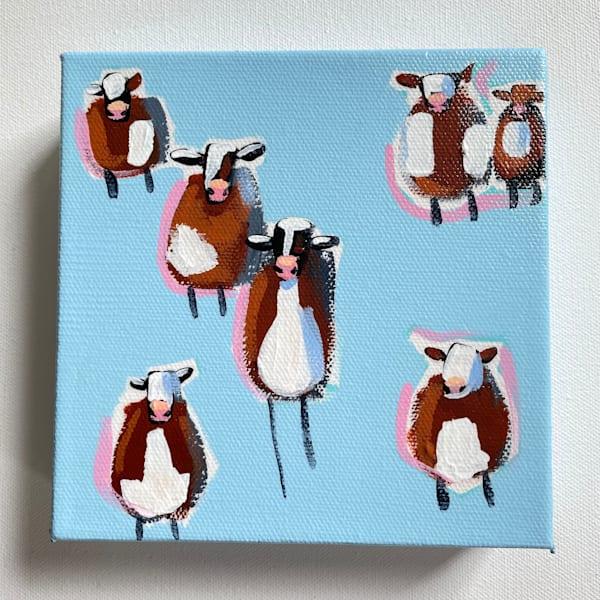 Mini Cows Sky View | Lesli DeVito