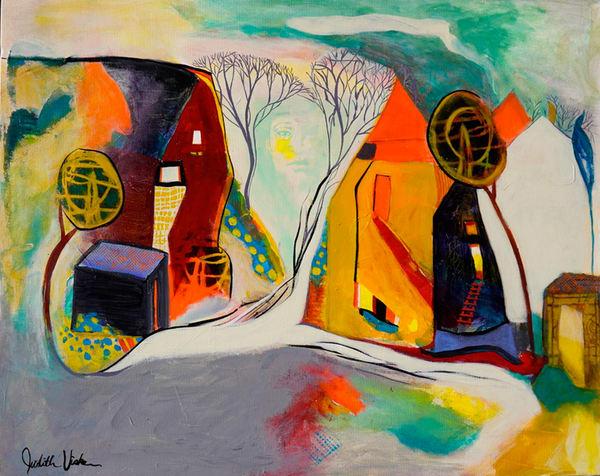 Farm Girl. Art | Judith Visker Art