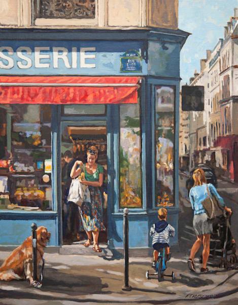 Matin Le Samedi  Rue Biot, Paris Art | Fountainhead Gallery