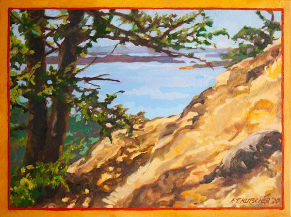 Path Up West Side Of Turtlehead Art | Fountainhead Gallery