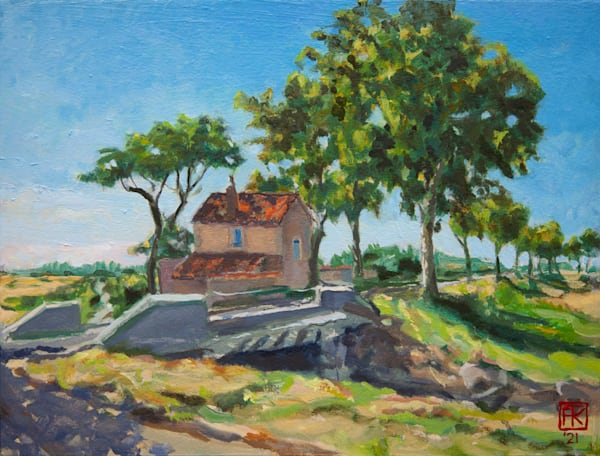 House On Road To Aries Art | Fountainhead Gallery