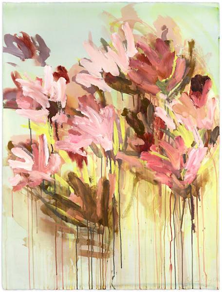 Restless Pinks Art | Caroline Wright Art