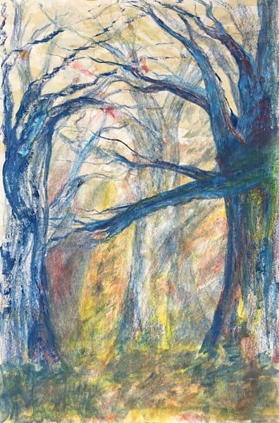 Fall Forest Art | Artist Rachel Goldsmith, LLC