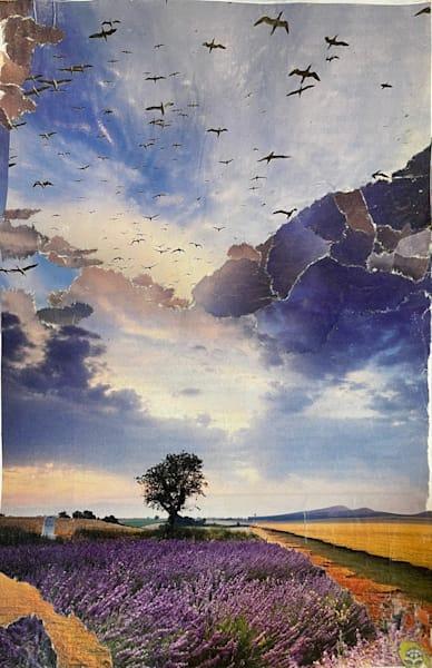 Lavender Tree  Art | Artist Rachel Goldsmith, LLC