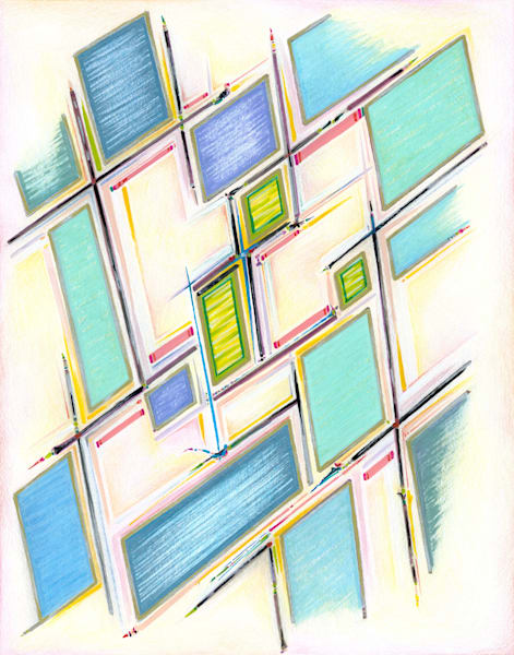 Rung By Rung (Limited Edition Print) Art | Kim P. Bartholomew