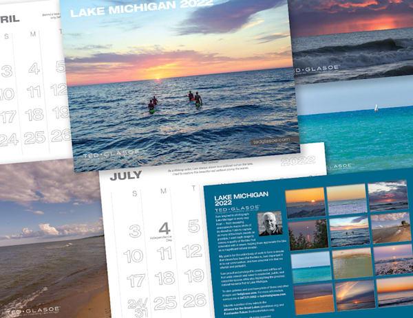 2022 Lake Michigan Calendar