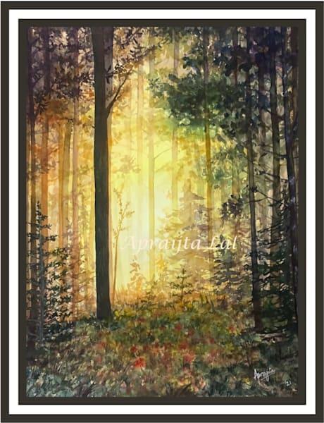 """Breaking Through"" in Watercolors by Aprajita Lal"