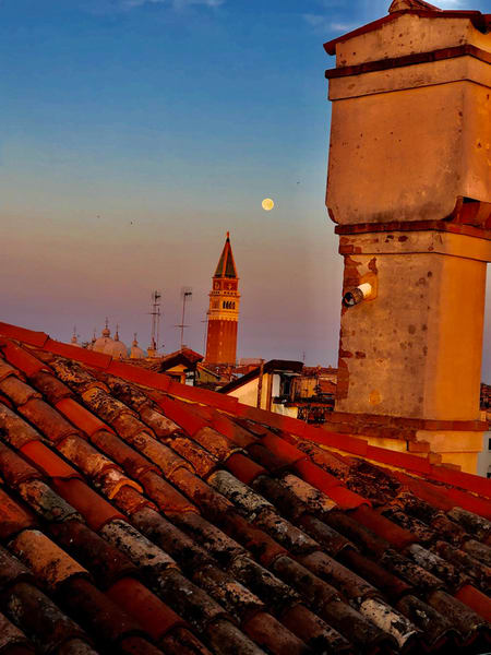 Twilight in Venice Italy