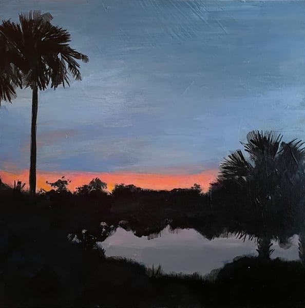 At Night Art | Joan Bixler Art