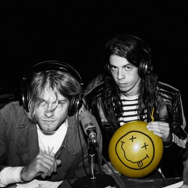 Kurt Cobain & Dave Grohl Art | East End Arts