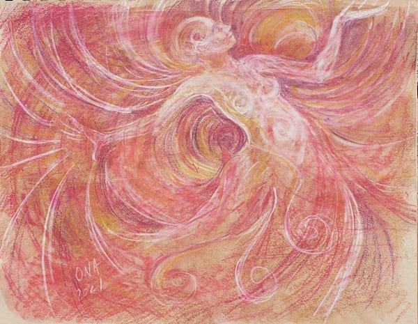 Archangel Ariel Art print