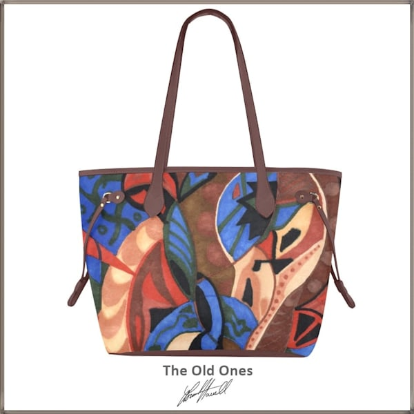 The Old Ones Clover Canvas Tote