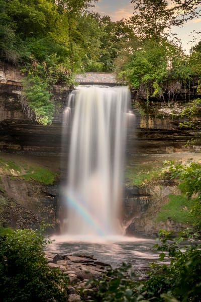 Minnehaha Falls in Minneapolis - Waterfall Photography | William Drew