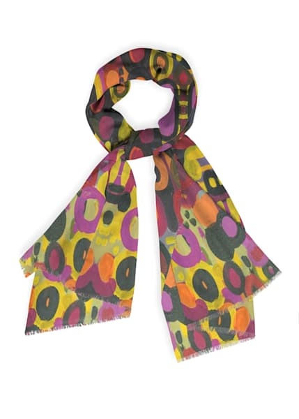 Hope Scarf Cashmere Silk | Abstraction Gallery by Brenden