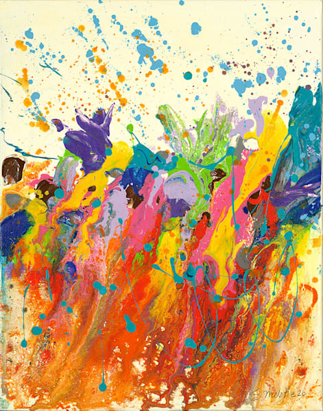 """""""Riot of Spring"""" fine art print by Stacey Melotte."""
