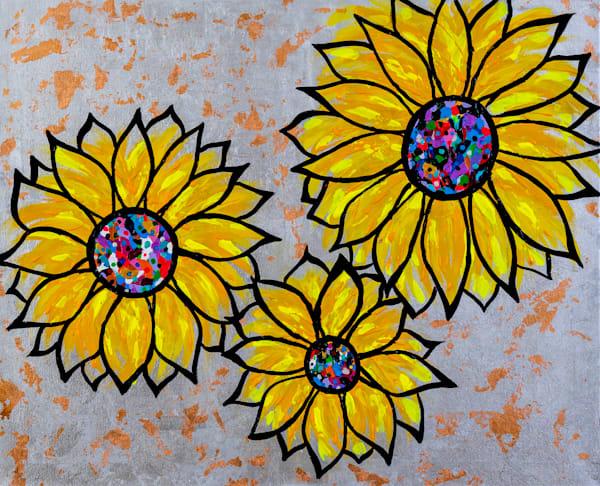 You're A Sunflower Art   Courtney Einhorn