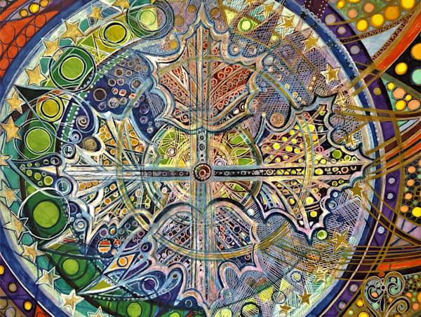 Autumn's Compass Art   Cynthia Christensen Art