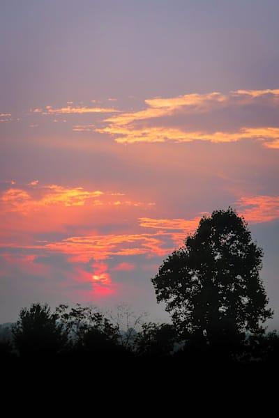 Wannabe Naturalist Sunrise in Boone, NC   Eugene L Brill