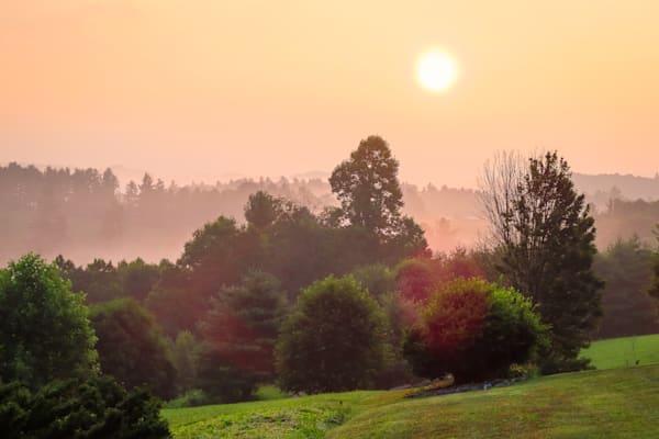 Wannabe Naturalist Smokey Sunrise in Boone, NC   Eugene L Brill