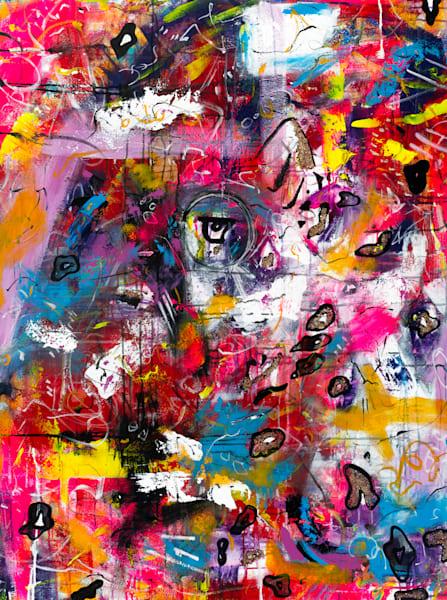 Eye Of The Leopard Art   Courtney Einhorn