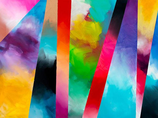 Color Burst Art   Courtney Einhorn