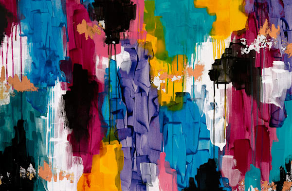 Make It Rain Art   Courtney Einhorn