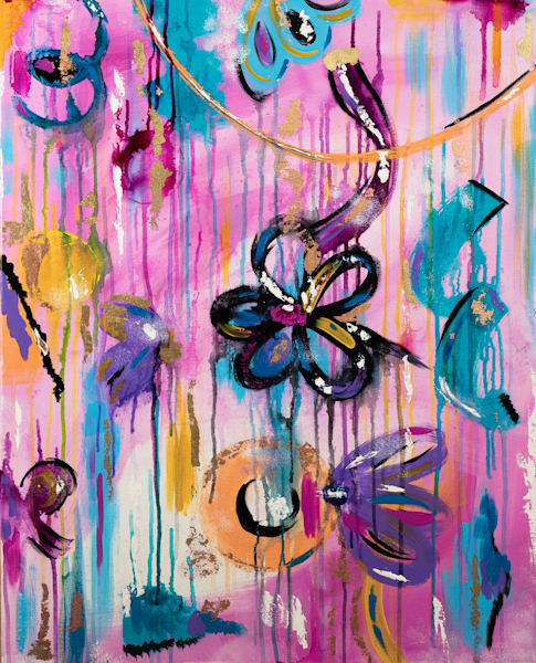 Spring Showers Art   Courtney Einhorn